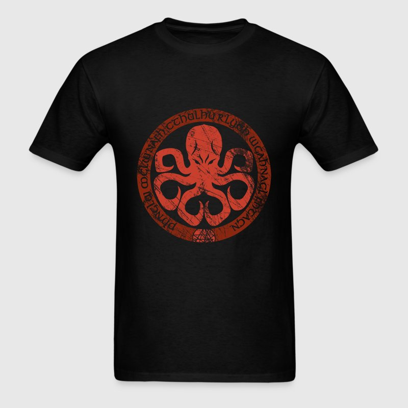 Seal of Cthulhu T-Shirts - Men's T-Shirt
