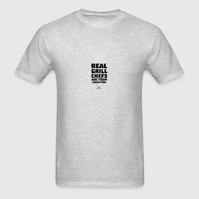 Real Grill Chefs are from Argentina S1251 Sportswear - Men's T-Shirt