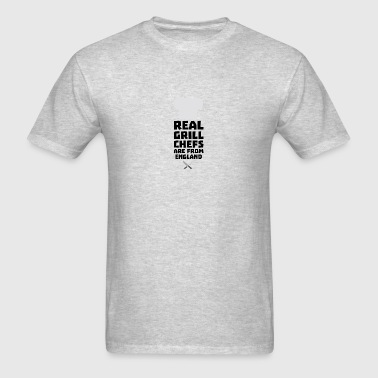 Real Grill Chefs are from England Sqqk3 Sportswear - Men's T-Shirt