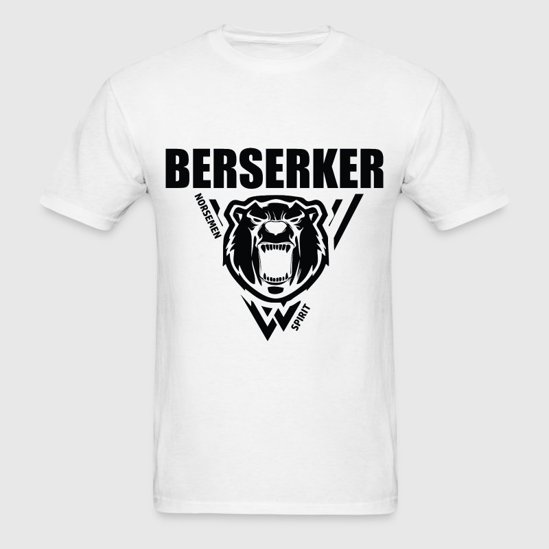 Berserker Vikings Black T-Shirts - Men's T-Shirt