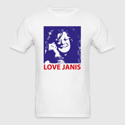 Love Janis 1960s Music 2c Sportswear - Men's T-Shirt