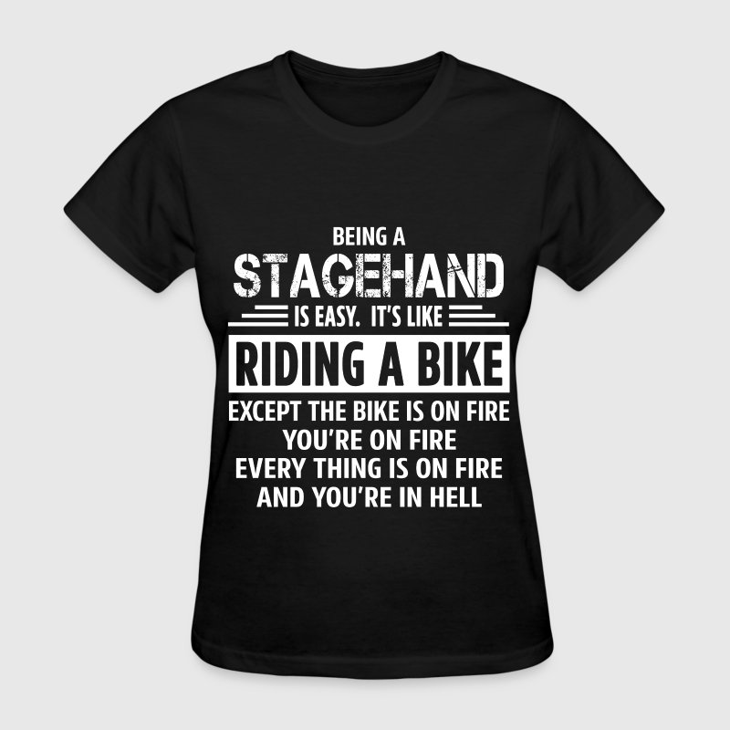 Stagehand T-Shirts - Women's T-Shirt
