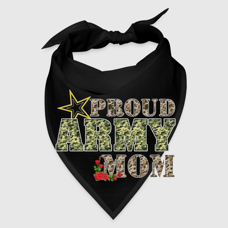 Proud Army Mom R Caps - Bandana