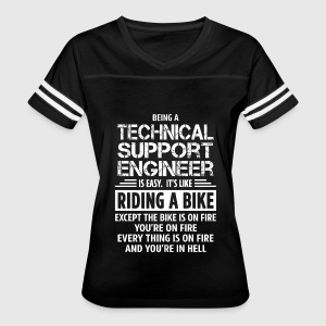 Technical support engineer t shirt spreadshirt womens vintage sport t shirt sciox Image collections