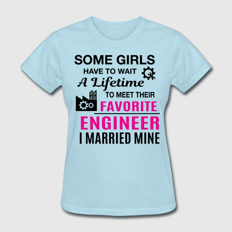 Engineer Wife - Women's T-Shirt
