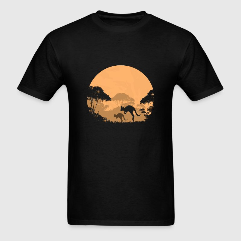 Australian outback in the night T-Shirts - Men's T-Shirt