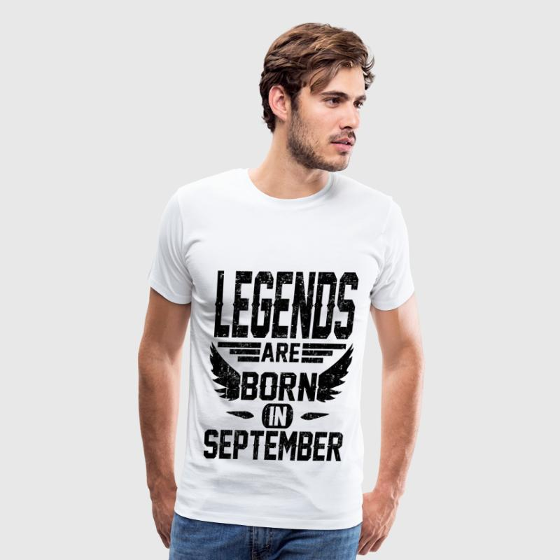 LEGEND SEPTEMBER 1.png T-Shirts - Men's Premium T-Shirt