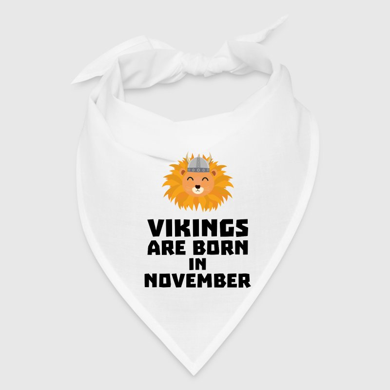 Vikings are born in November Sur82 Caps - Bandana