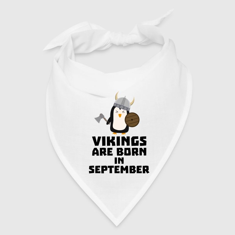 Vikings are born in September Szu23 Caps - Bandana