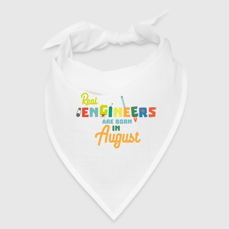 Engineers are born in August S479b Caps - Bandana