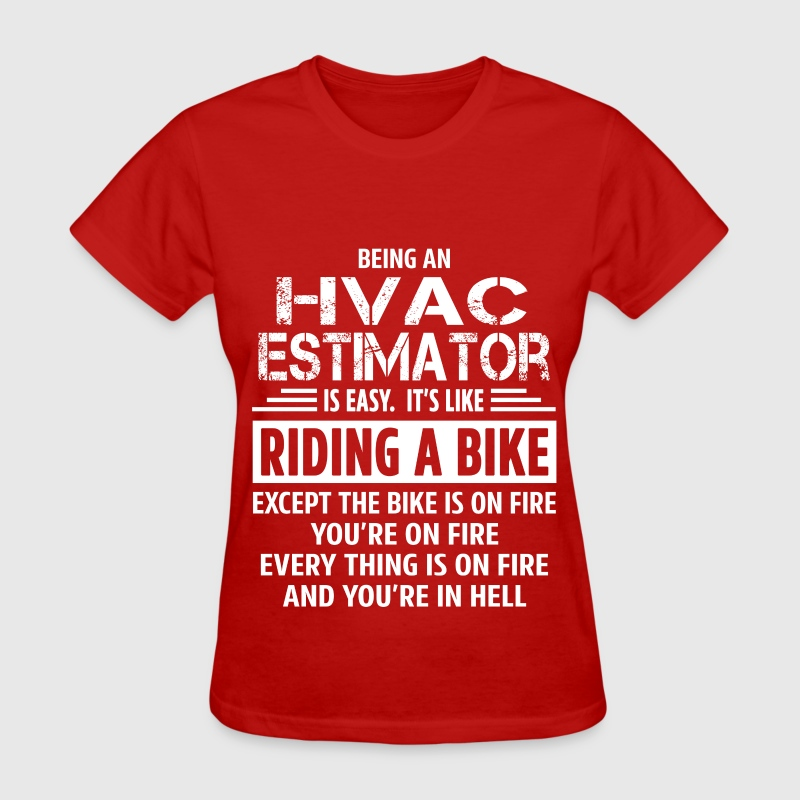 hvac estimator t shirt spreadshirt - Hvac Estimator