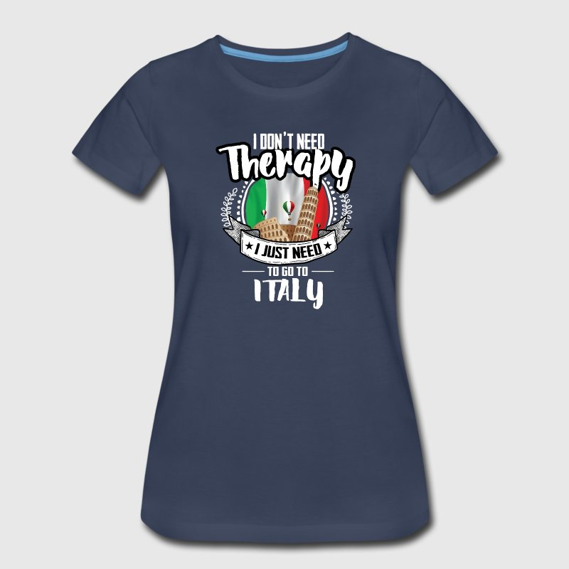 Countries Therapy Italy T-Shirts - Women's Premium T-Shirt