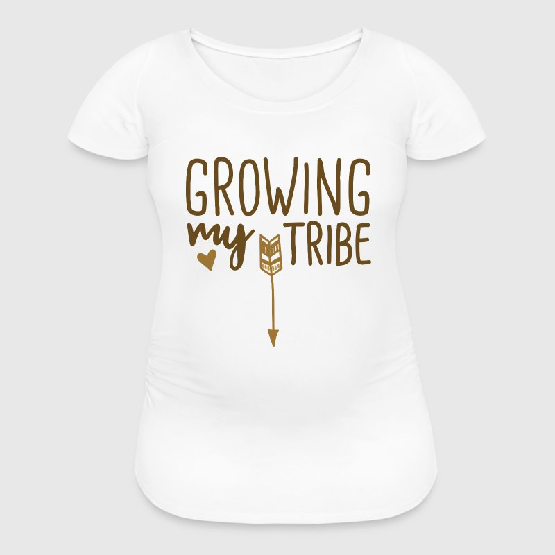 Growing My Tribe - Women's Maternity T-Shirt