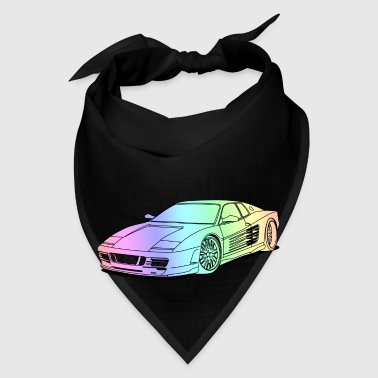cool car colourful Mugs & Drinkware - Bandana