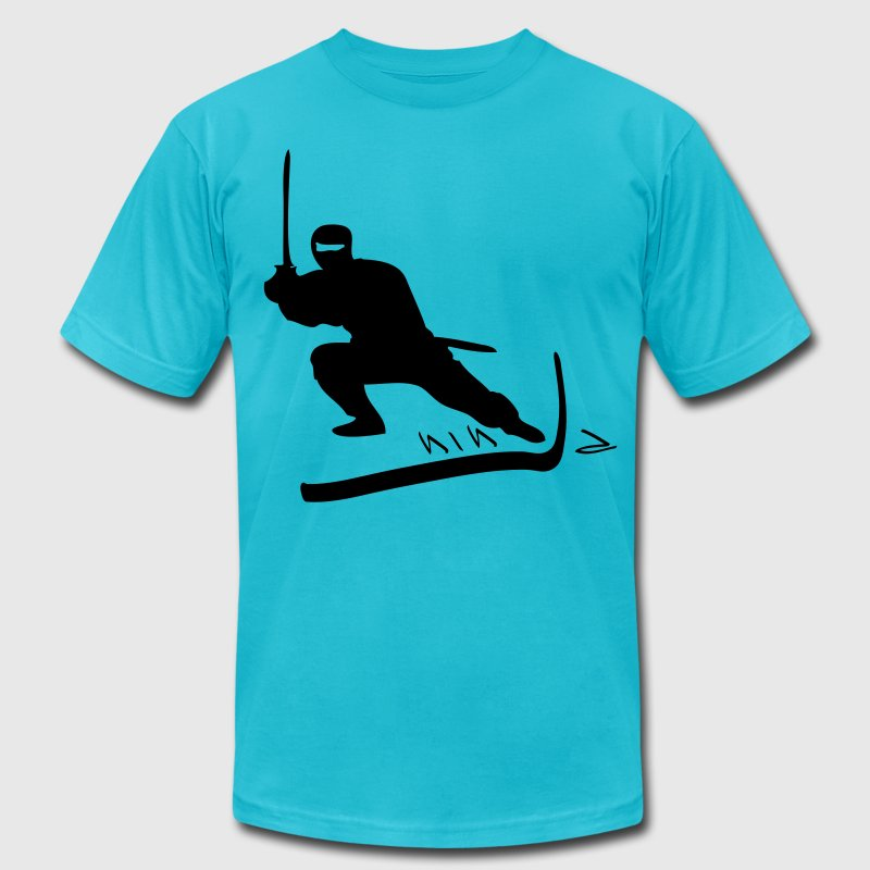 ninja T-Shirts - Men's T-Shirt by American Apparel
