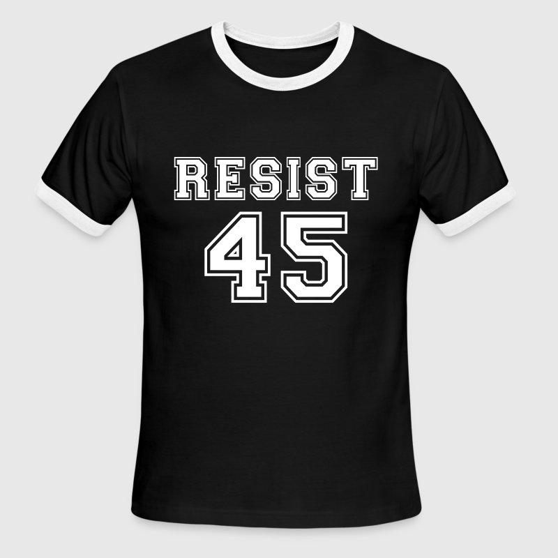 Resist 45 - Men's Ringer T-Shirt