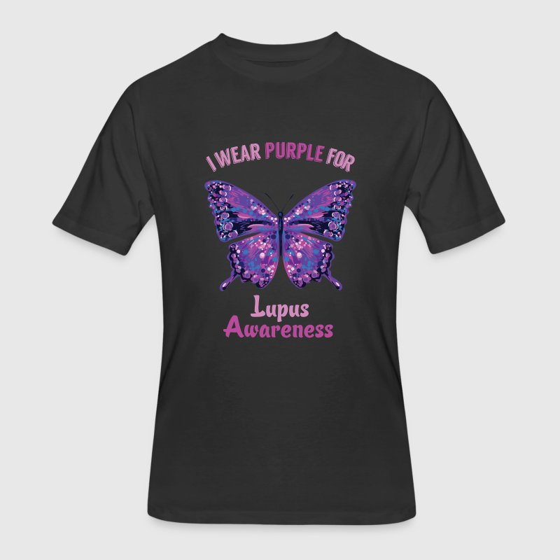 Lupus Awareness Lupus Warrior T-Shirt T-Shirts - Men's 50/50 T-Shirt