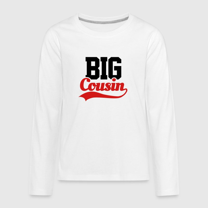 Big Cousin Kids' Shirts - Kids' Premium Long Sleeve T-Shirt
