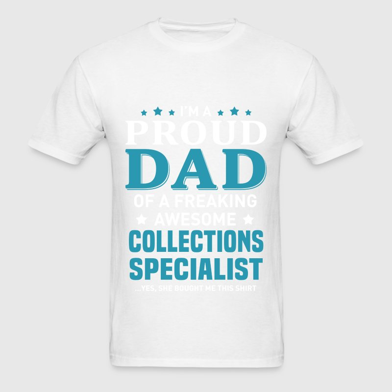 collections specialist t shirt spreadshirt