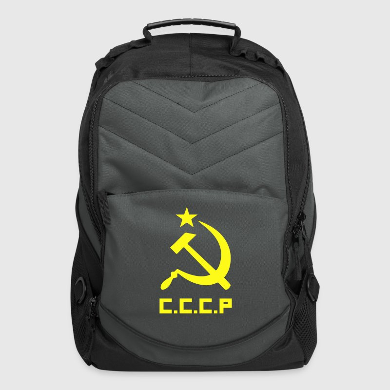 Communist Flag C.C.C.P Hammer & Sickle - Computer Backpack