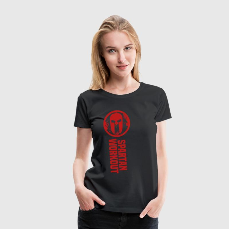 spartan workout T-Shirts - Women's Premium T-Shirt