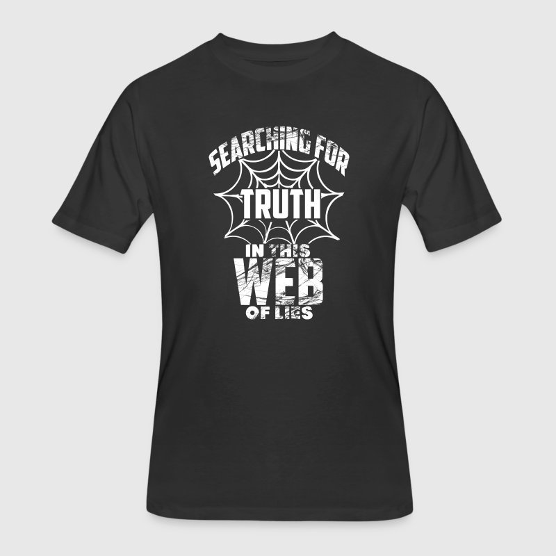 Web of lies T-Shirts - Men's 50/50 T-Shirt