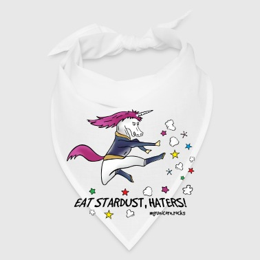 Badass unicorn kicking ass! Eat stardust, haters! Mugs & Drinkware - Bandana