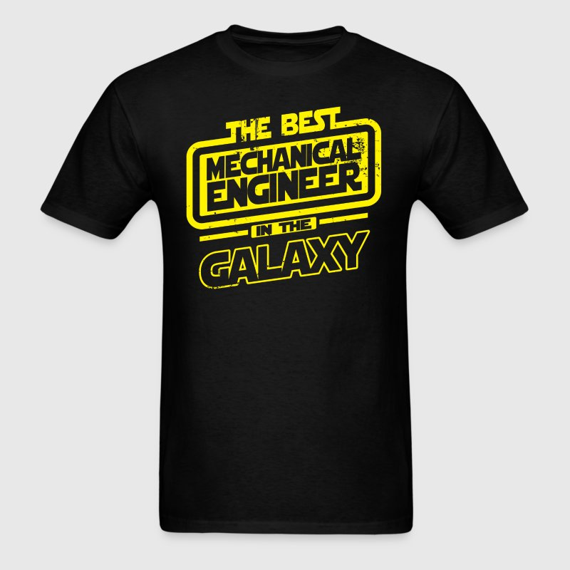 The Best Mechanical Engineer In The Galaxy T-Shirts - Men's T-Shirt