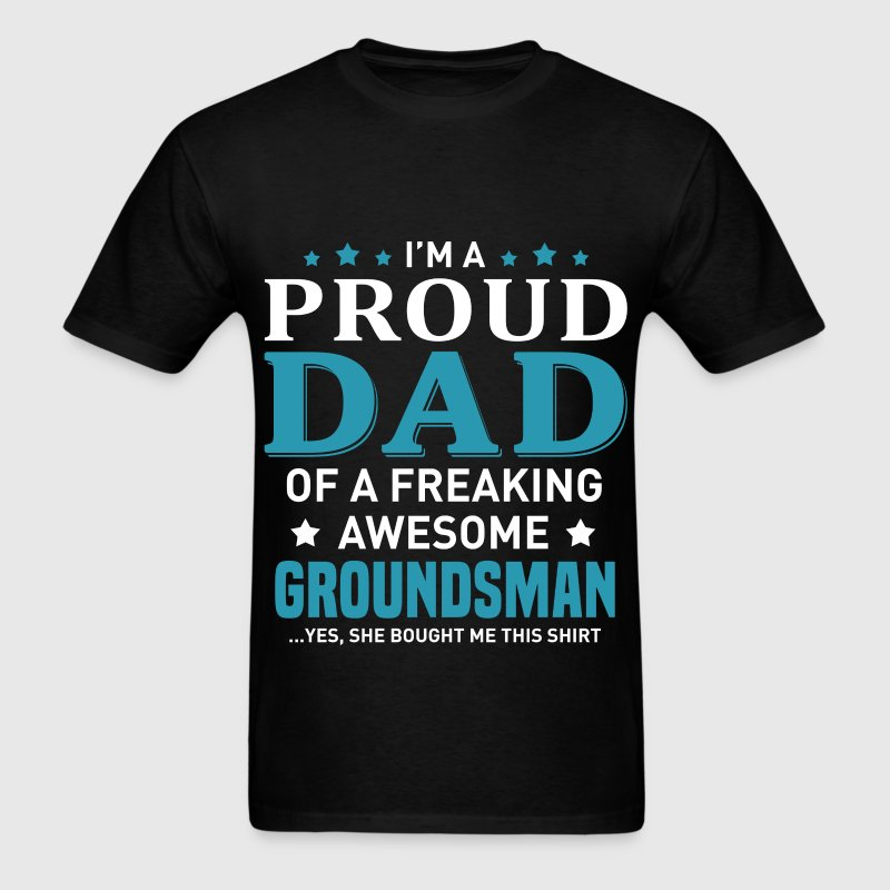 Groundsman's Dad - Men's T-Shirt