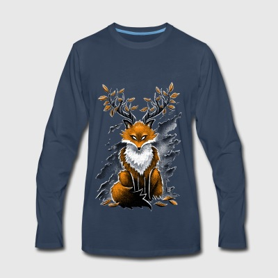 Deer Fox Baby & Toddler Shirts - Men's Premium Long Sleeve T-Shirt