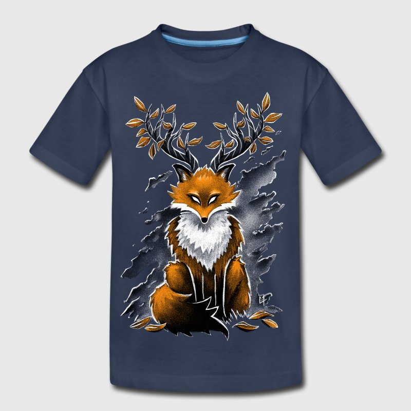 Deer Fox Kids' Shirts - Kids' Premium T-Shirt