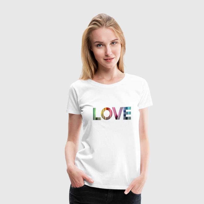 Love is everywhere SHIRT WOMAN - Women's Premium T-Shirt