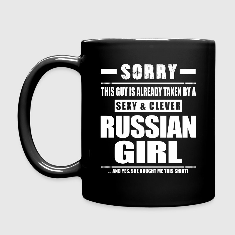 Guy Taken - Russian Girl Shirt Gift Russia Mugs & Drinkware - Full Color Mug