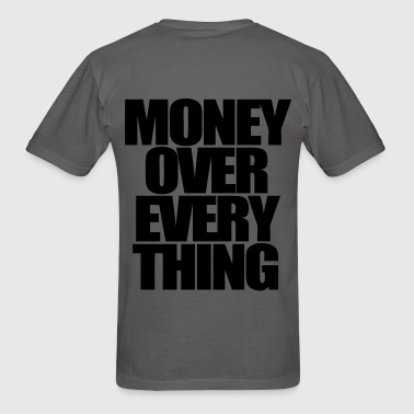 Money Over Everything Zip Hoodies/Jackets - stayflyclothing.com - Men's T-Shirt