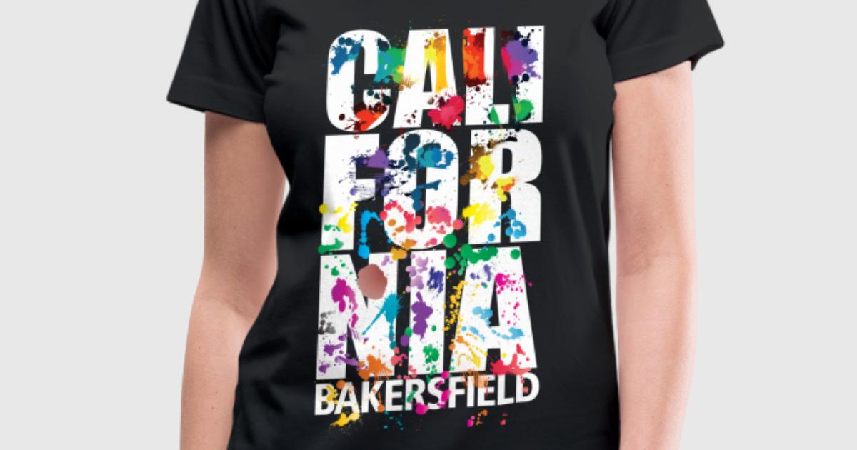 Bakersfield Air Brush T Shirt Spreadshirt