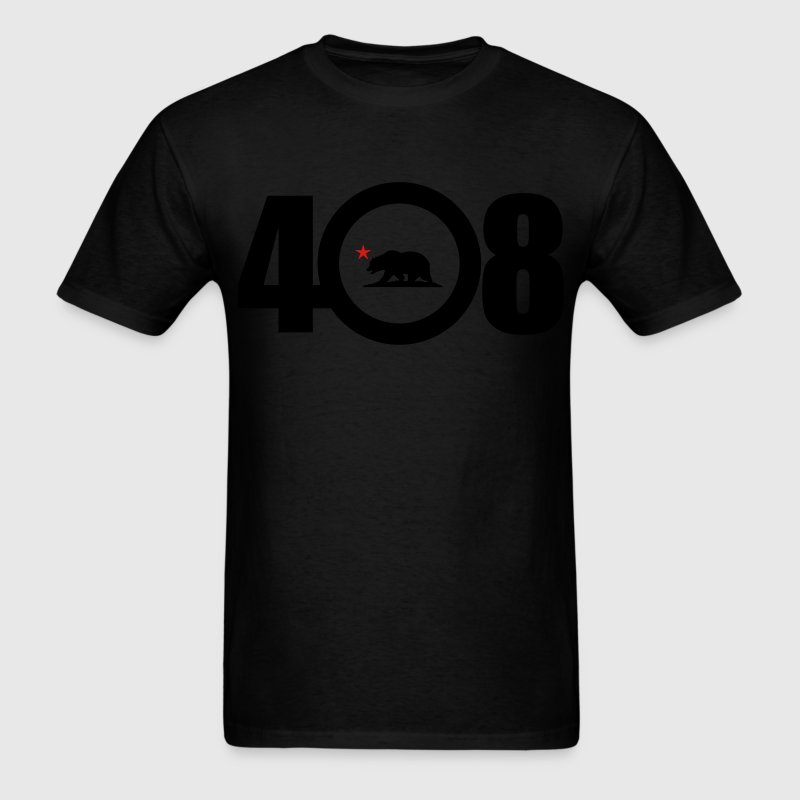 Area Code 408 - Men's T-Shirt