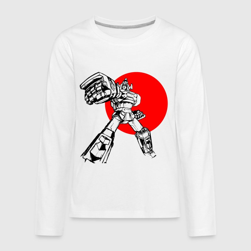 Daimos Gundam Japan Kids' Shirts - Kids' Premium Long Sleeve T-Shirt