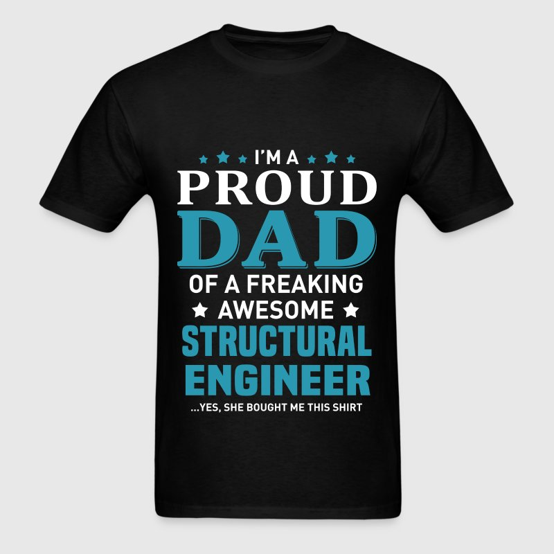 Structural Engineer's Dad - Men's T-Shirt
