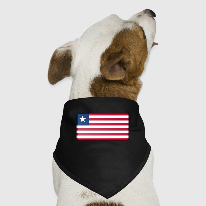 Liberia Flag Other - Dog Bandana