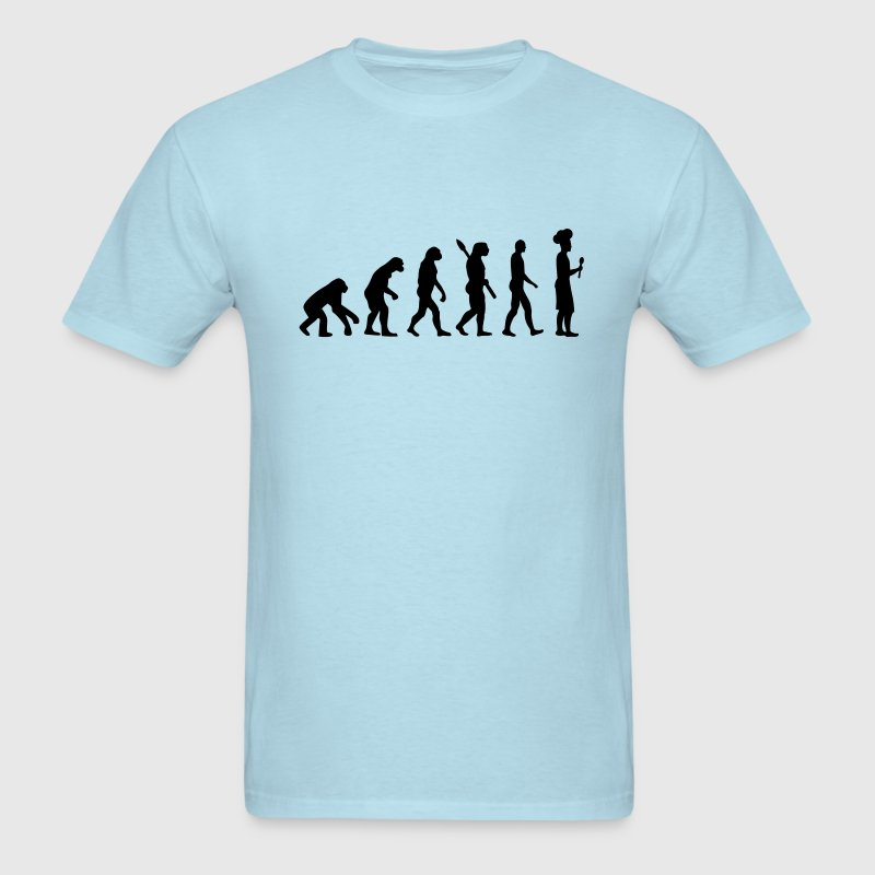 Evolution cook chef T-Shirts - Men's T-Shirt
