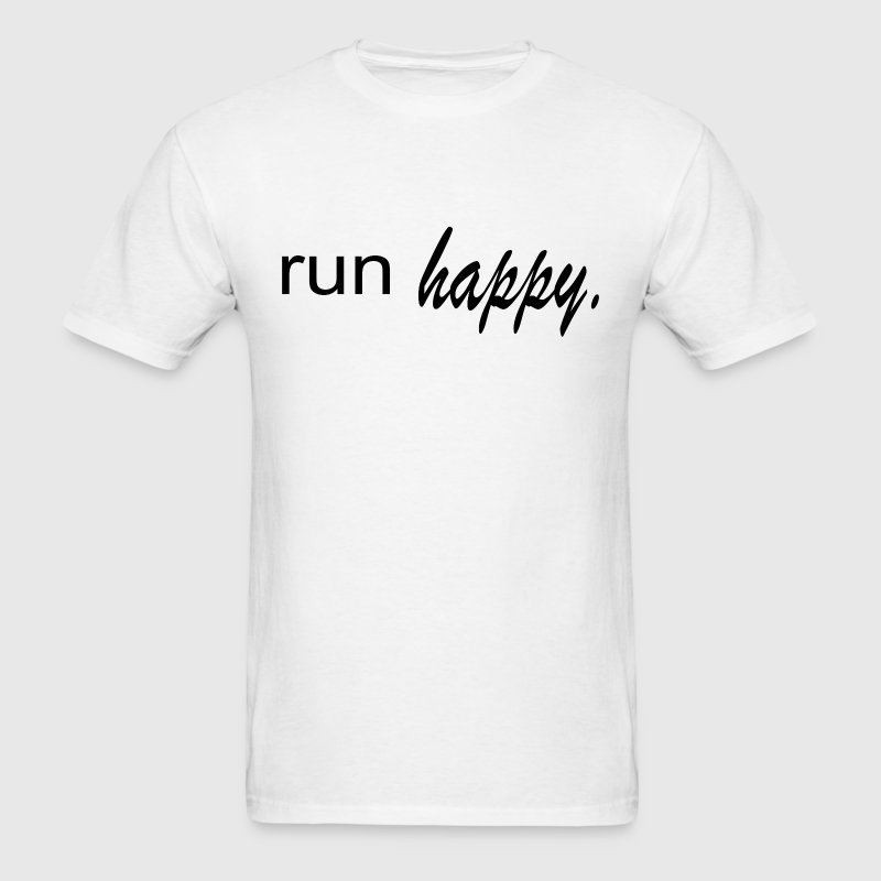 Run Happy - Men's T-Shirt