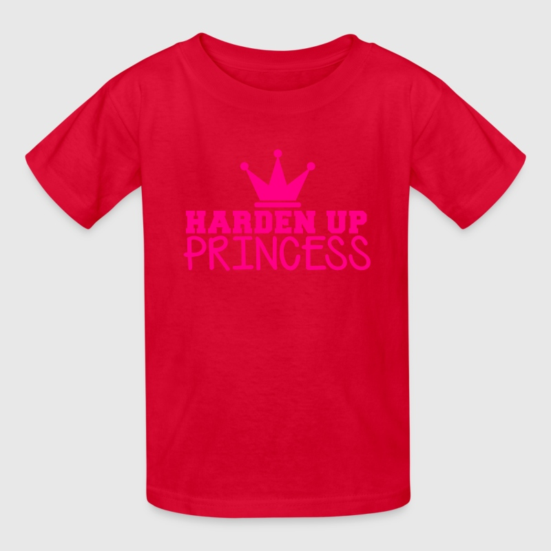 ROYAL CROWN HARDEN up PRINCESS HTFU Kids' Shirts - Kids' T-Shirt
