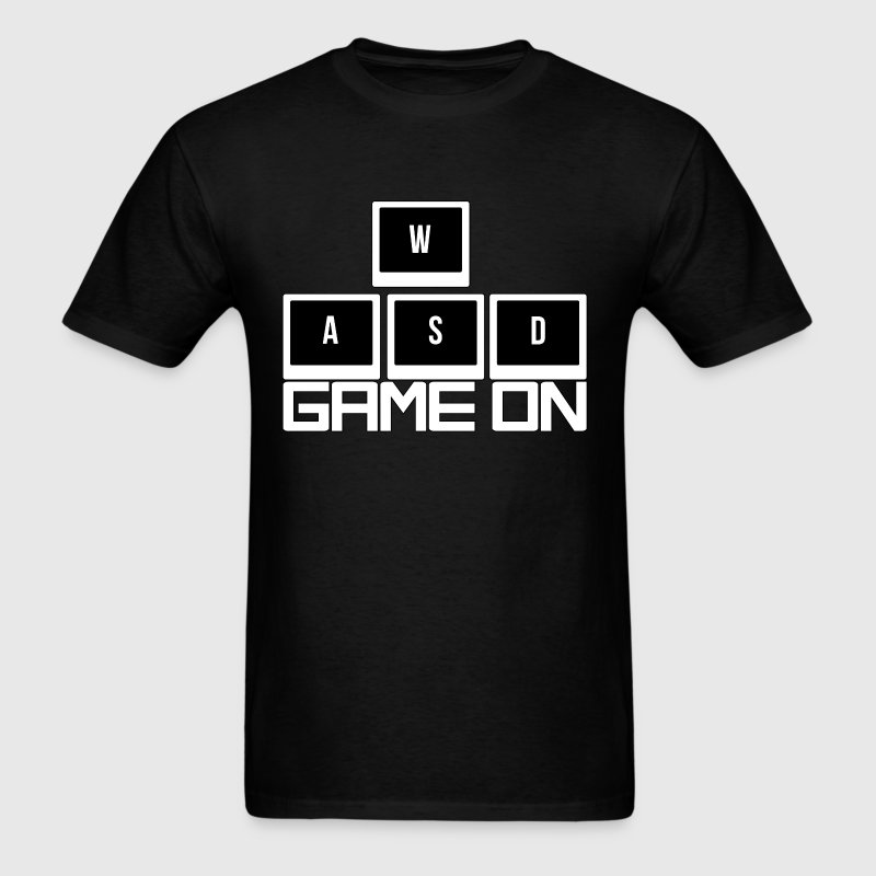 WASD - Game On T-Shirts - Men's T-Shirt