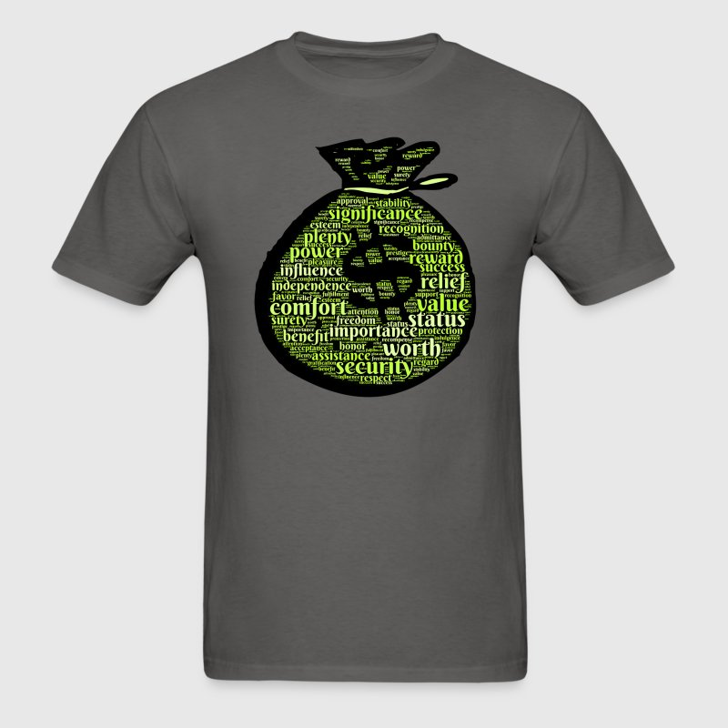 Money Bag T-Shirts - Men's T-Shirt