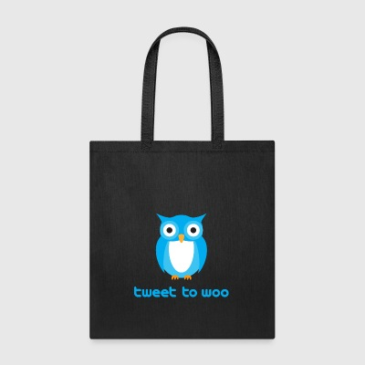 Tweet To Woo - Tote Bag