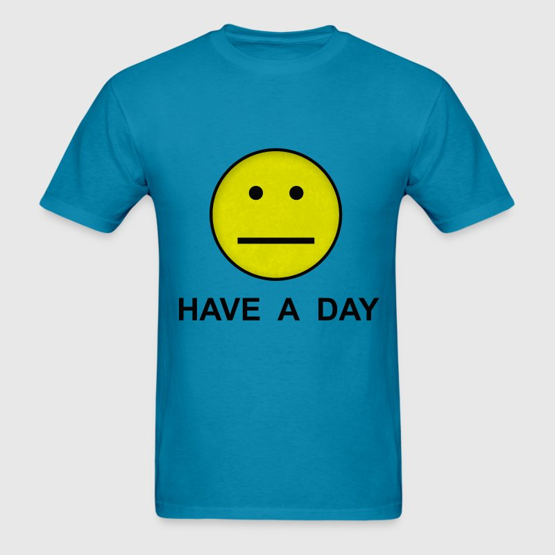 Have a day Smiley poker - Men's T-Shirt