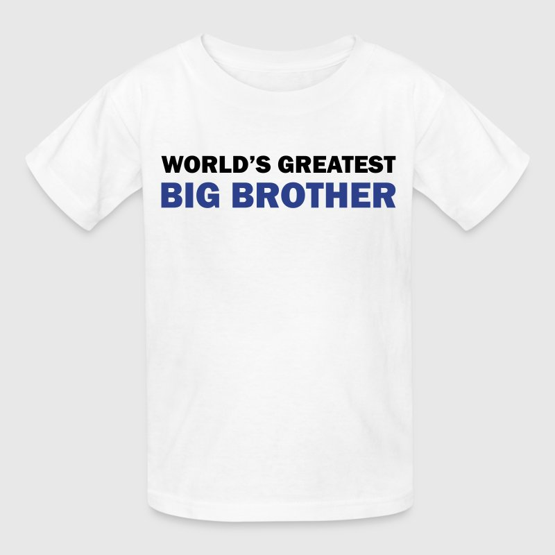 World's greatest big brother - Kids' T-Shirt