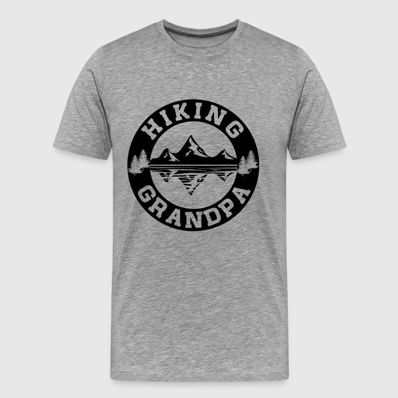 Hiking Grandpa T-Shirts - Men's Premium T-Shirt