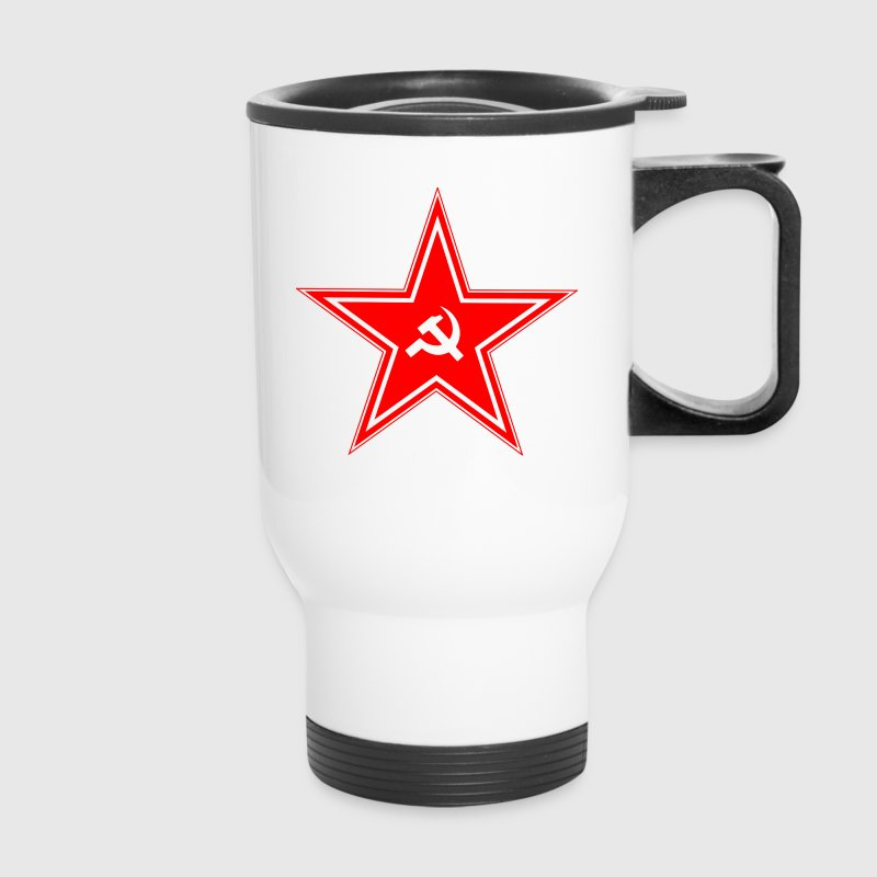 Soviet Union Star Mugs & Drinkware - Travel Mug