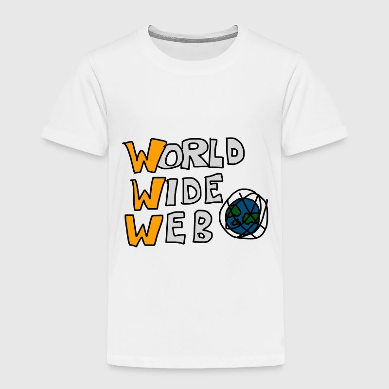 World Wide Web (Internet) Baby & Toddler Shirts - Toddler Premium T-Shirt